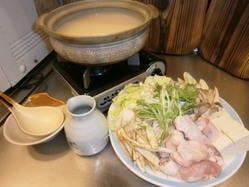 コラーゲンたっぷりの水炊き
