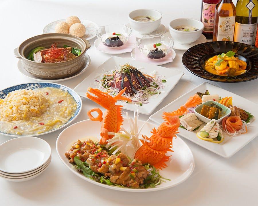 季節の味を色々味わうディナー2,500円~