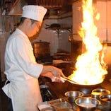 中華料理ひと筋の職人たちが腕を振るいます!