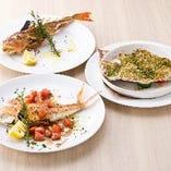 【新鮮な魚介】 鮮魚をお好みで丸々一本調理♪