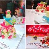【記念日】 誕生日/記念日にはオリジナルケーキでお祝い♪