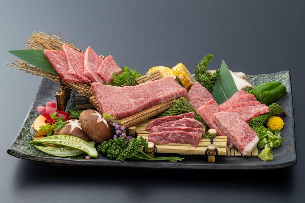 上神戸牛コース ~前菜からデザートまで宴会、接待にもご利用頂けます~飲み放題付き8000円〜