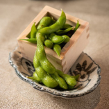 枡盛り枝豆