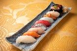 お任せ握り・10貫寿司