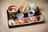 彩り寿司御膳