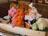 海鮮バカ盛り寿司