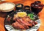 牛サーロインステーキ定食