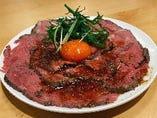 牛ローストビーフ 肉並盛り(100g)