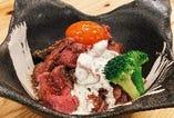 牛ローストビーフ丼 肉大盛り