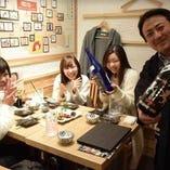 ひびき仕込みの日本酒は鏡山とのコラボです!