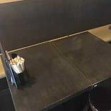 1~4名様で使えるソファー席