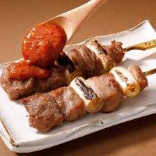 特撰かしら串【国産豚 コメカミ肉使用】