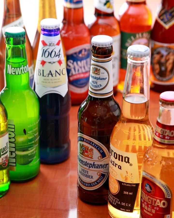 世界のビールが味わえます