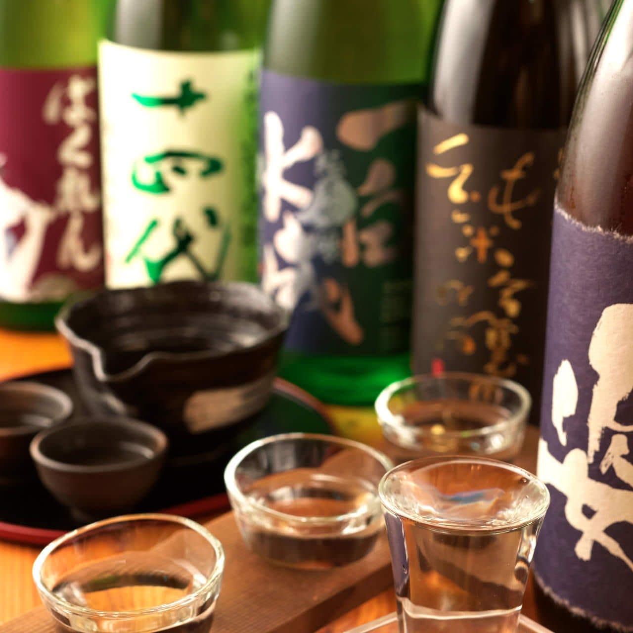 和食と相性抜群!焼酎・日本酒も豊富