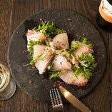 明石昼網・鮮魚のカルパッチョ