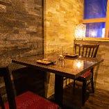 【隠れ家個室】 夜景も見えるデートや記念日にもぴったりな個室
