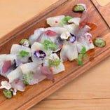本日の鮮魚のカルパッチョ【北海道】