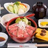 松阪牛ローストビーフ丼 【鎌田店限定】【数量限定・予約不可】