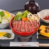 松阪牛ステーキ丼 【鎌田店限定】【数量限定・予約不可】