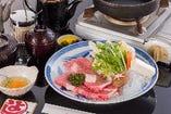 松阪牛 牛トロすき焼き