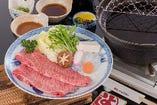 松阪牛 上肉しゃぶしゃぶ