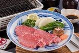 松阪牛 あみ焼き