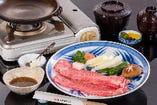 松阪牛 特上陶楽焼