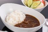 松阪牛カレーライス(サラダ付)