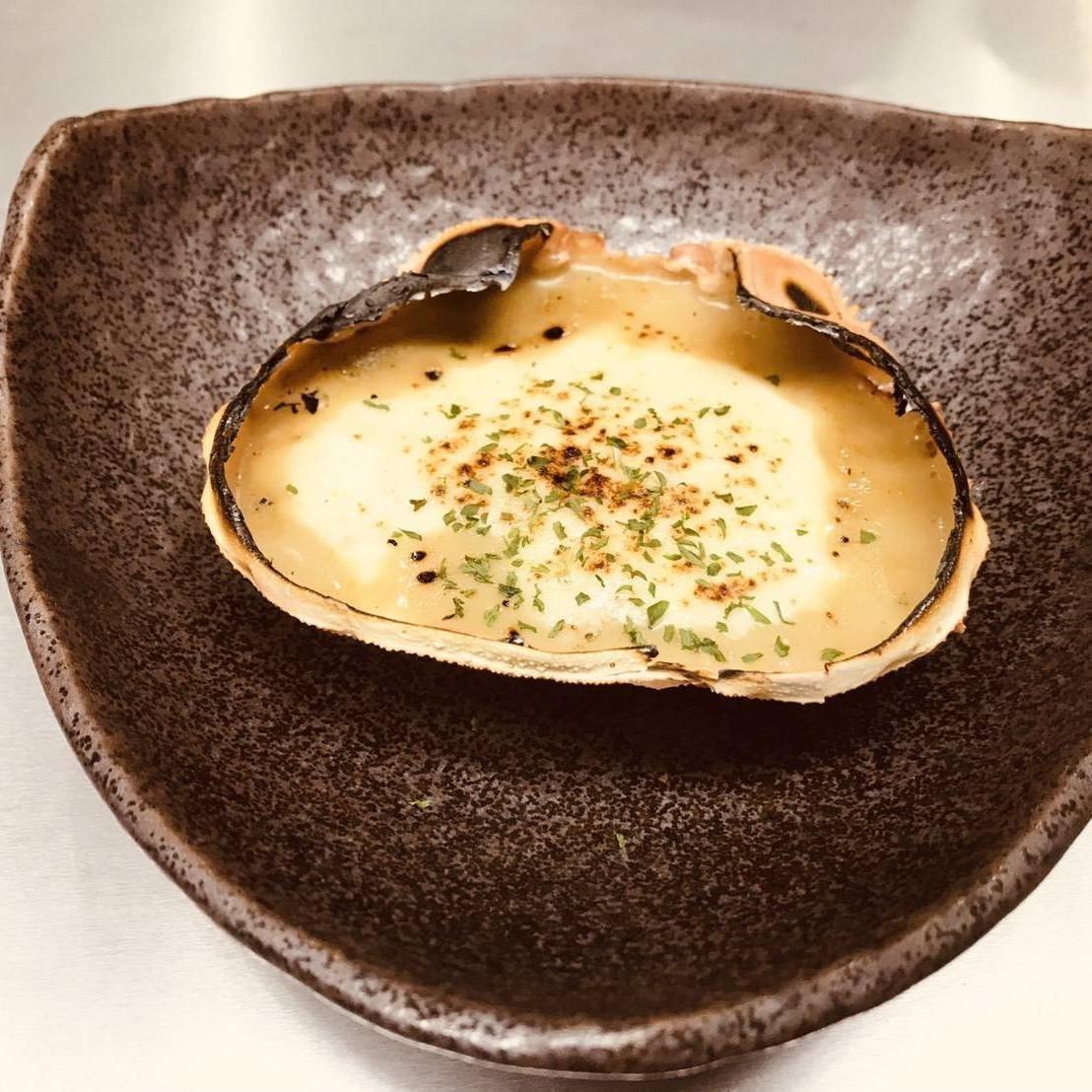自家製蟹味噌グラタンです。