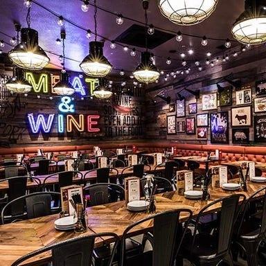 MEAT&WINE WINEHALL GLAMOUR 新橋  店内の画像