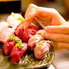 魚やってません、それが『肉寿司』