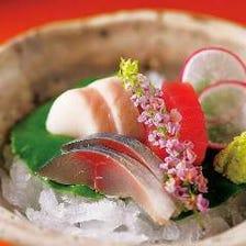 旬な鮮魚を美味しさそのまま・・。