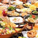 食べ飲み放題は様々な内容がございます。 2980円~ご用意♪