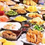豊富な食べ飲み放題メニューと選べる価格でご宴会も大満足!