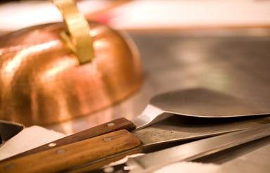 ステーキ・鉄板焼 素敵館  コースの画像