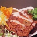 豚肉のグリル(コー・ムー・ヤーン)