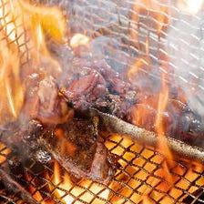 炭火焼にたたき、お鍋と鶏を満喫♪