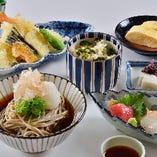 日本料理 平日ランチ限定【越前そば御膳】2,100円