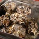 牡蠣のかんかん焼