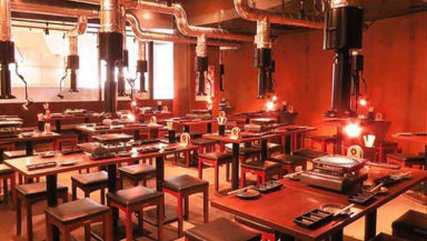 焼肉×ビアガーデンBBQ 食べ放題 焼肉少年団 渋谷店 店内の画像