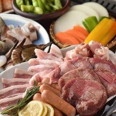 焼肉×ビアガーデンBBQ 食べ放題 焼肉少年団 渋谷店