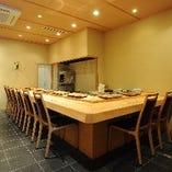 【カウンター】落ち着いた和空間で江戸前寿司を