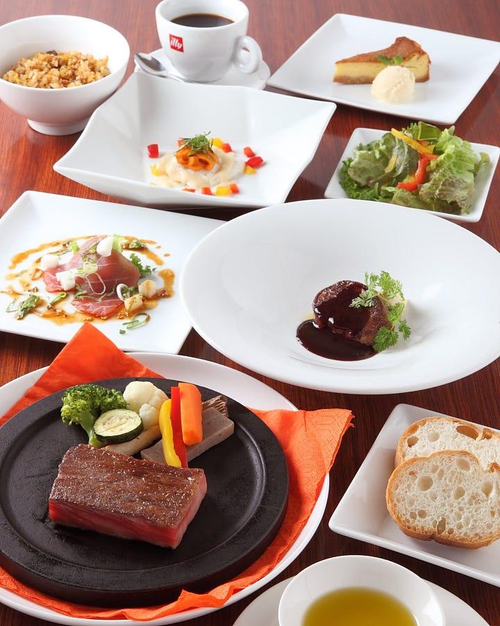 選べる一皿&極上のA5黒毛和牛をリーズナブルに堪能ください!