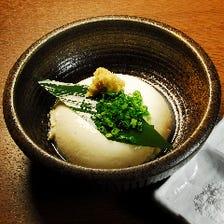 ふわっとした口溶けの良い手作り豆腐