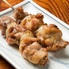 ◆鳥精肉の串焼き