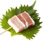 豚しそ巻き【梅肉】
