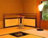 茶室や、檜のカウンターもございます。