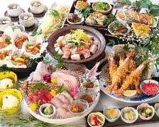 野菜×鮮魚が自慢!旬の宴会3,480円~