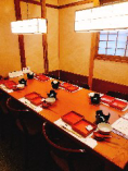 ~8名様までのテーブル個室席 お食事会や接待に!
