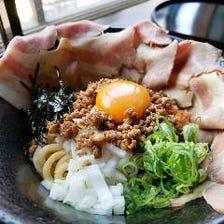 肉盛りまぜジャン麺(追い飯付き)